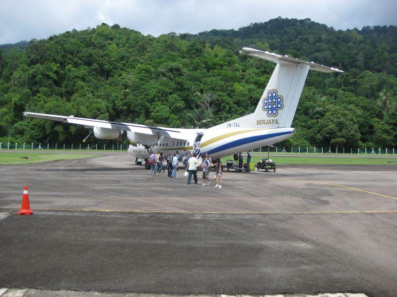 Berjaya plane in Tioman
